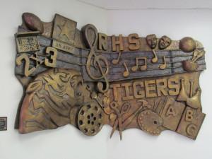 Melissa Stanfield Walker artist, randleman High School