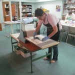 Melissa Stanfield Walker artist monotype workshop