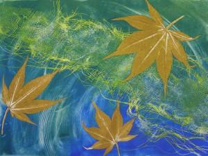 ochre-leaves